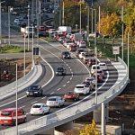 Stau auf der neuen Brücke zwischen Lobeda-Ost und Lobeda-Wset - Bildrechte: MediaPool Jena
